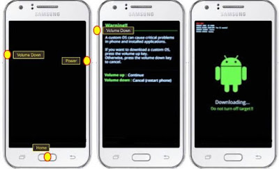 Cara Hard Reset HP Samsung Galaxy Note 2 N7100