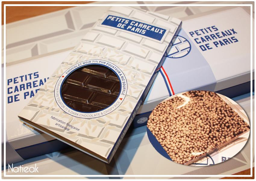 TABLETTE DE CHOCOLAT NOIR 71% RIZ SOUFFLE