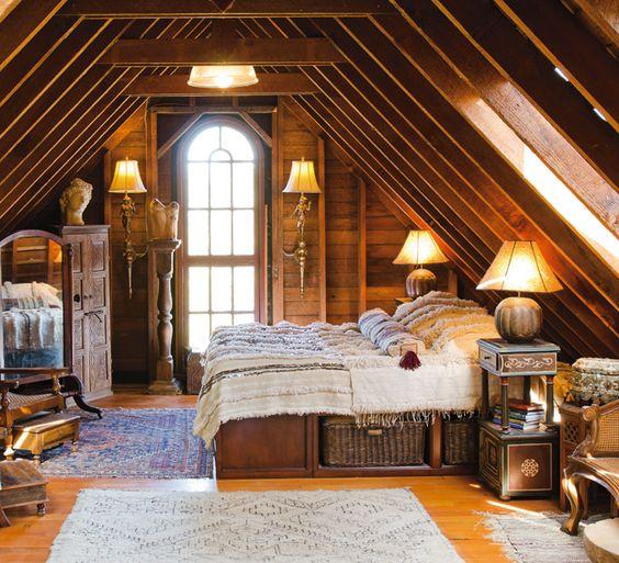 Cozy Luxury Homes Interior Gallery: Eye For Design: Cozy Attic Bedrooms