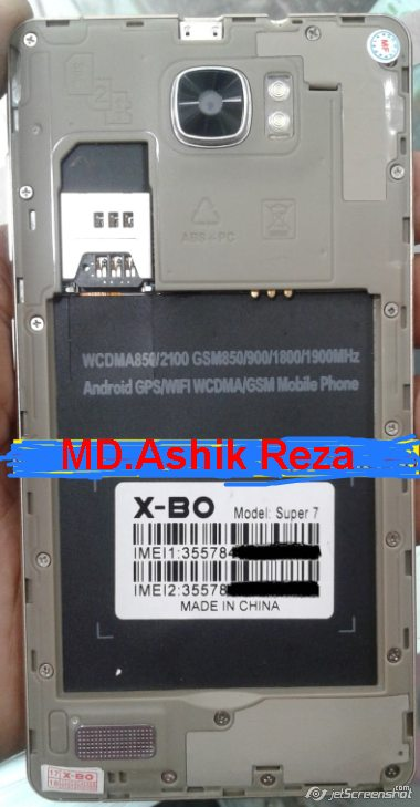 matelecom3 Firmware Stock Rom com: Sony X-BO Super 7 Flash File