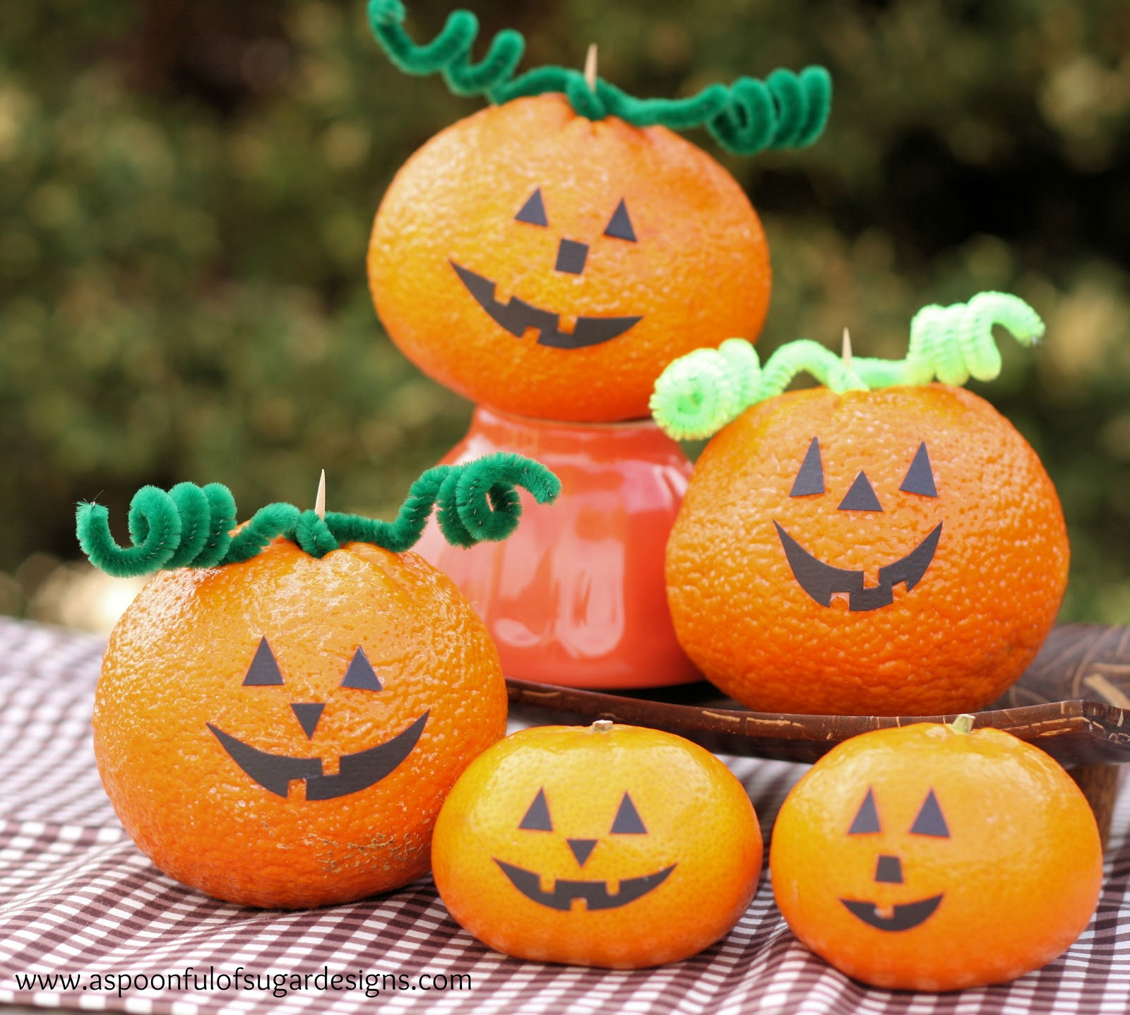 Halloween Crafts And Decorations: A Spoonful Of Sugar