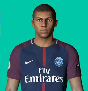 PES 2017 Faces Kylian Mbappe by Ben Hossam FaceMaker