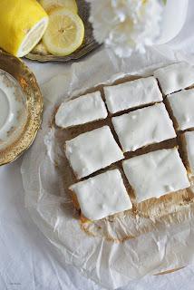 cytrynowe ciasto z polenty