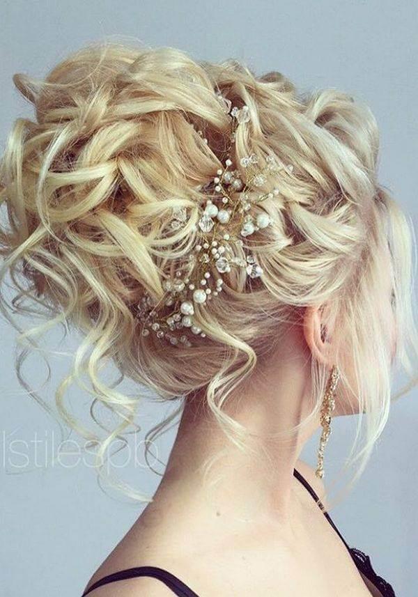 prenses topuz gelin saçı modelleri