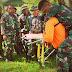 Korem 151 Gelar Latihan Penanggulangan Bencana Alam di Masohi