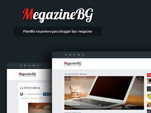 MegazineBG - Plantilla simple estilo megazine para blogger