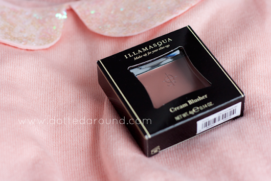 Illamasqua Zygomatic cream blush swatches, review