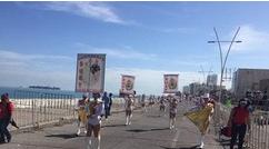 Tercer desfile de Carnaval Veracruz con una hora de retraso y gradas semivacías