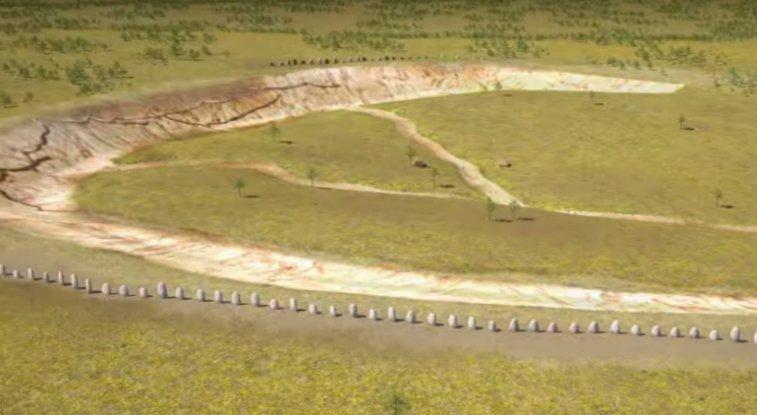 Arqueólogos encuentran un enorme círculo de madera cerca de Stonehenge