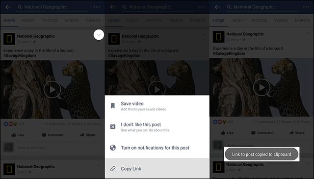 تحميل فيديو من تطبيق فيسبوك علي الاندرويد بدون استخدام تطبيقات
