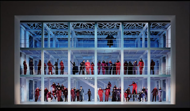 Meyerbeer's Les Huguenots at the Paris Opera for the first time since the 1930s, in 2018 (s (Photo Agathe Poupeney/OnP)