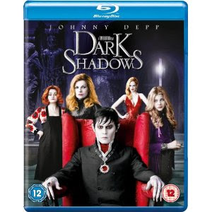 Dark Shadows Blu Ray Johnny Depp