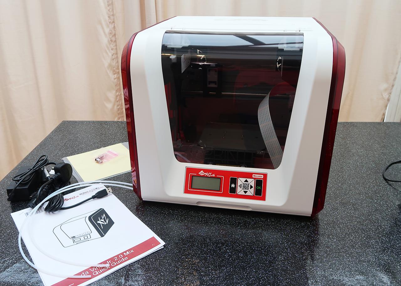 Da Vinci Jr 2 0 Mix 3D Printer Review | Tech Age Kids