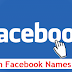 Top And Best Stylish Facebook Name List 2018