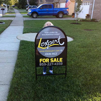 For Sale Sign with Stella