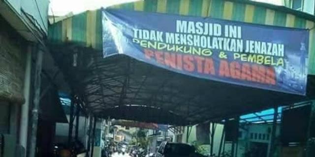 Soal spanduk di masjid, MUI: Jangan Sembarangan Menghukumi Munafik Seorang