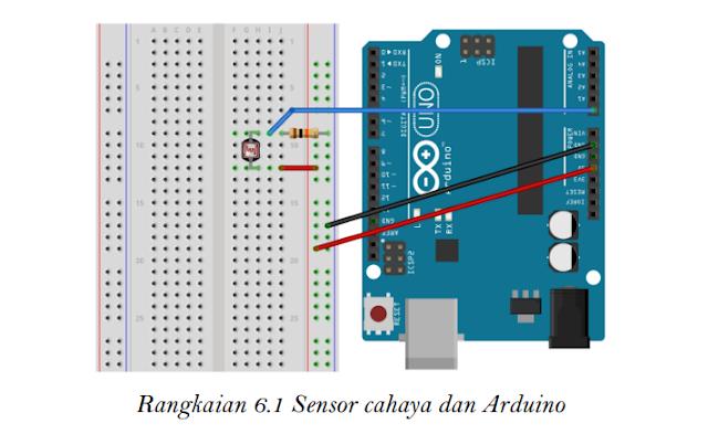 Sensor Cahaya dan Arduino