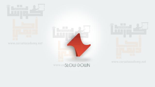 شرح تصميم شعار دورة الفوتوشوب