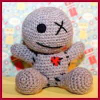Muñeco Emo amigurumi