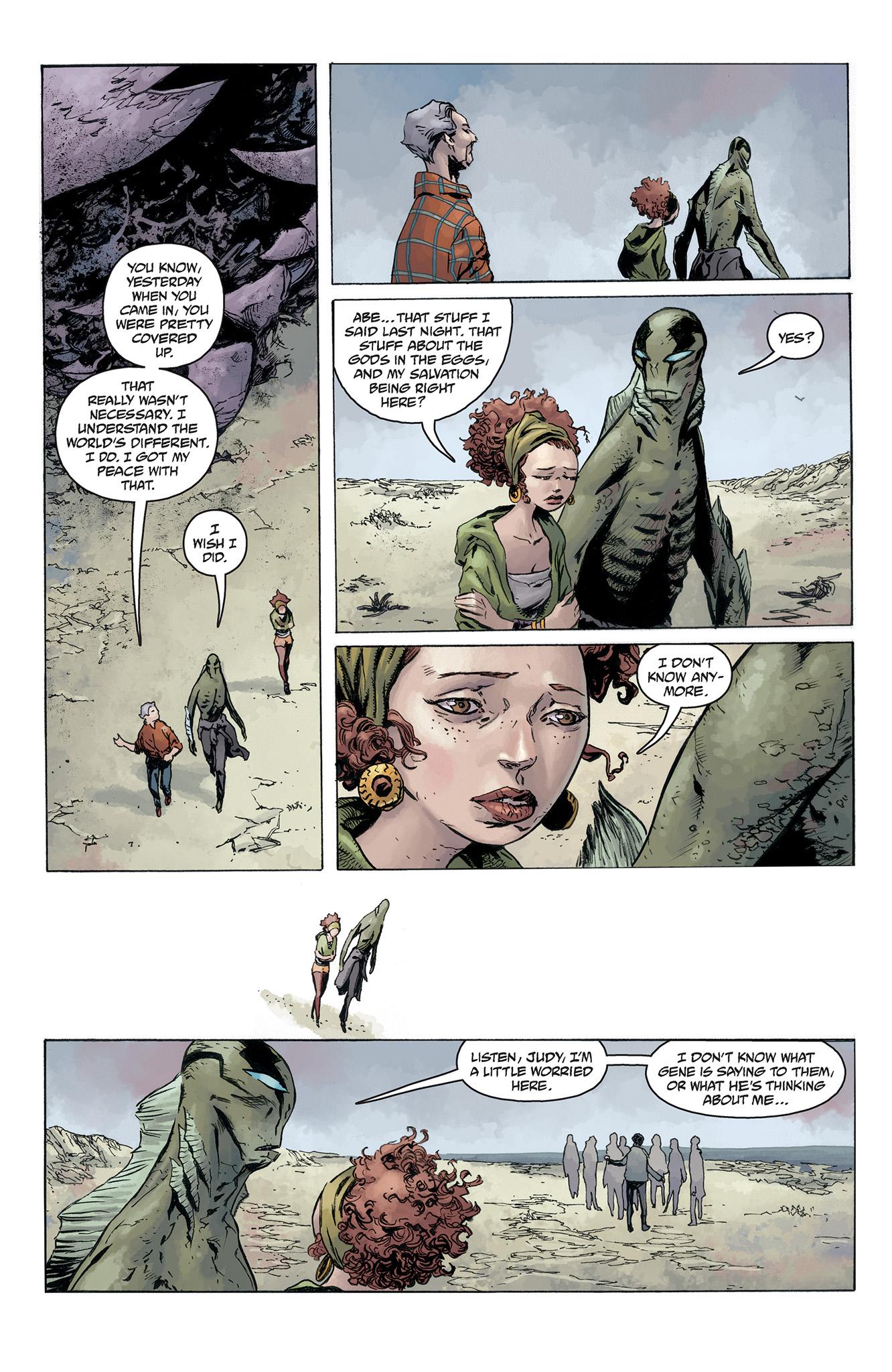 Read online Abe Sapien comic -  Issue #5 - 9