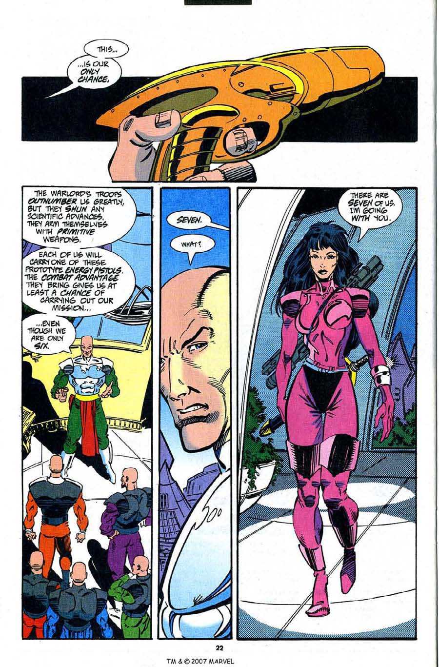 Read online Silver Surfer (1987) comic -  Issue #91 - 24