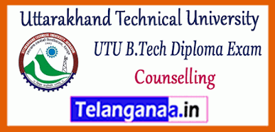 Uttarakhand Technical University B.Tech Diploma Counselling