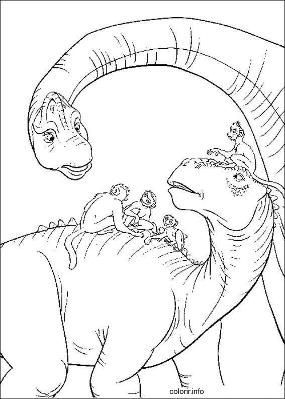 dinosaur movie coloring pages   Reptossaurus: Dinossauros para Colorir - Parte III