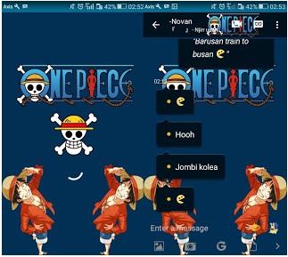 BBM Mod One Piece V3.0.1.25 Apk