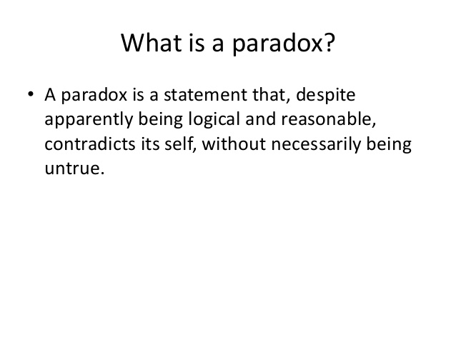 The Christian Life Is A Paradox