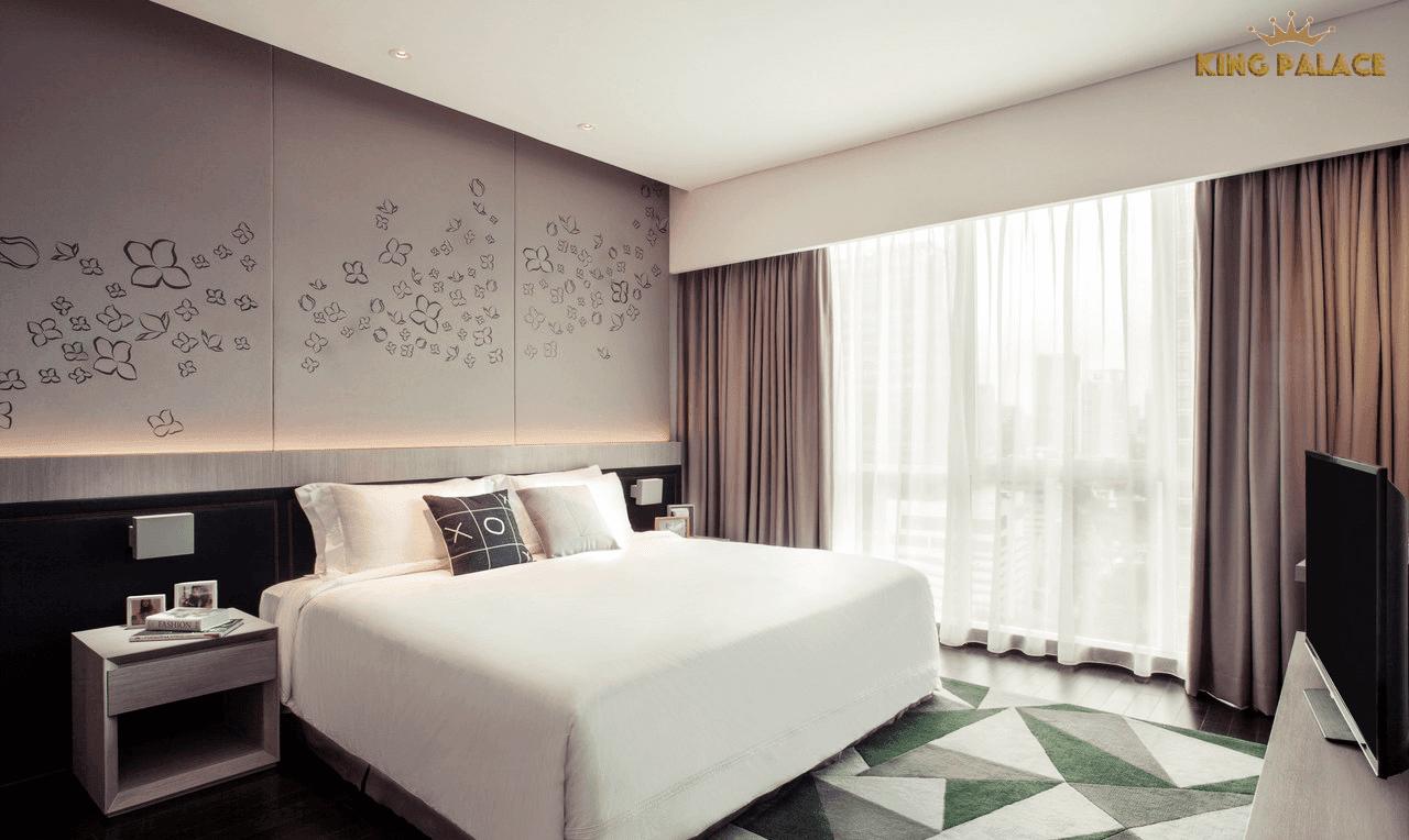 Phòng ngủ căn hộ dự án 108 Nguyễn Trãi