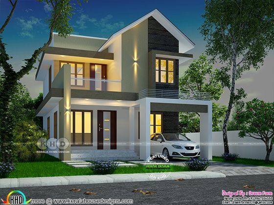 Beautiful budget friendly Kerala home design