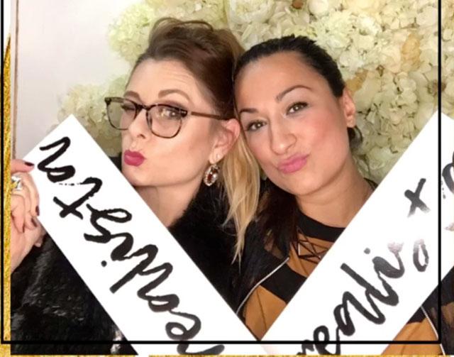 Fulya und Chrissie aus der Edelfabrik im L'Oréal Atelier zu Berlinale 2017