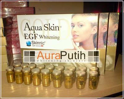 Skinnic Aqua Skin Whitening EGF Gold, Aqua Skin Whitening EGF Gold, Aqua EGF Gold, Aqua EGF Gold injeksi Aqua EGF Gold harga Murah, Aqua EGF Gold Injection