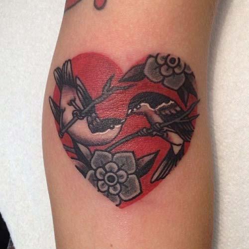 kalp dövmeleri tumblr heart tattoos