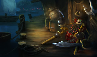 Shiver Me Timbers Fiddlesticks Skin