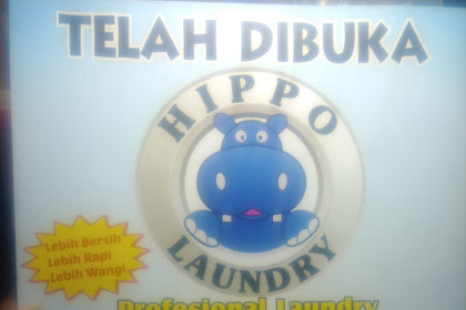 Hippo Laundry  Telah Dibuka