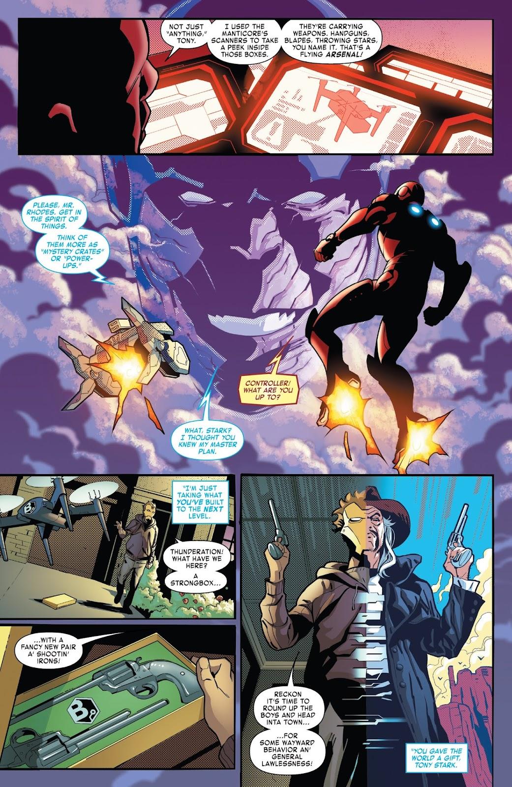 Read online Tony Stark: Iron Man comic -  Issue #7 - 20