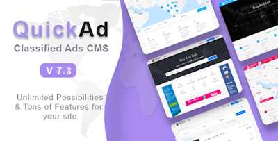 codecanyon classified ads cms - quickad ,free download,