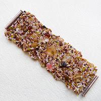 купить украшение из бисера украина браслет бисер фриформ