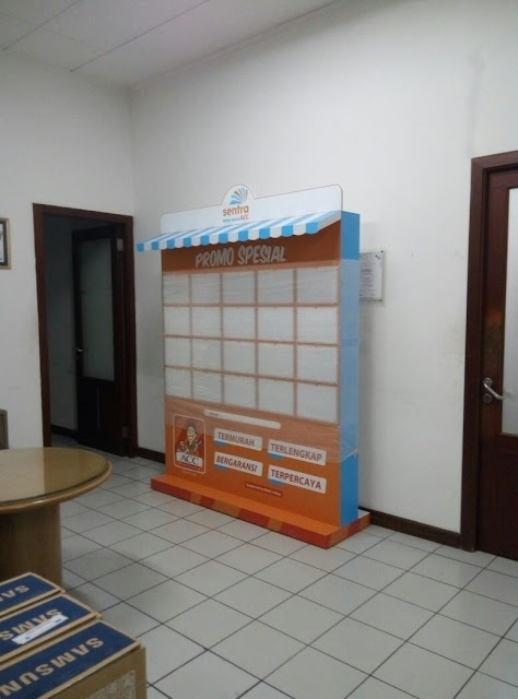 Desain Wall Of Stock Astra Credit Company