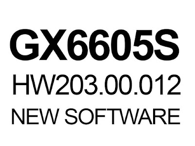 GX6605S HW203.00.012 POWERVU KEY SOFTWARE