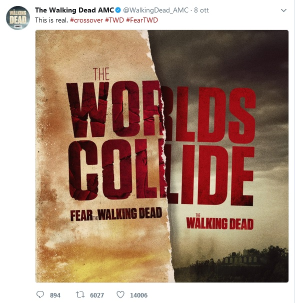 The Worlds Collide (TWD/FTWD crossover)