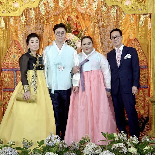 Unbelievable! This Chubby Indonesian Girl Got Married to This Handsome Korean Guy Because Of Her Hater!
