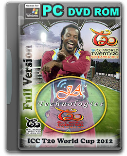 ICC T20 Cricket World Cup 2012 Full Patch Cover