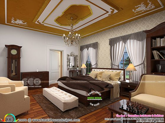 Master bedroom interior home