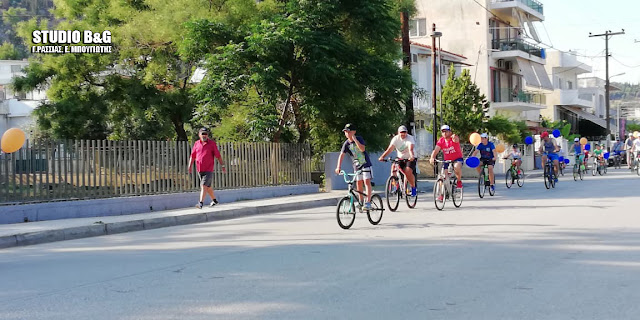 Με επιτυχία η 1η Ποδηλατάδα Χαράς στο Άργος