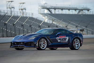 2019 Corvette ZR1 official pace car for Indianapolis 500