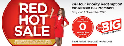 AirAsia End-Of-Year Red Hot Seats!