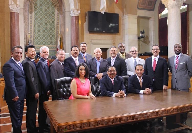 Los Angeles City Council Gil Cedillo