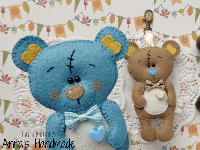 filc, felt, fieltro, feltro, miś, misio, misie, misiek, miś z filcu, mis z filcu, filcowy mis, filcowe misie, felt bear, felt teddy bear, oso de fieltro, urso de feltro, handmade, hand made, anita's handmade, anitas handmade, ręcznie szyty, recznie szyte, hobby, craft, felt craft, brelok z filcu, breloczek z filcu, brelok, breloczek, pendant, colgante, colgante de fieltro, rekodzielo, rękodzieło, jesień, jesien, autumn felt, kasztany